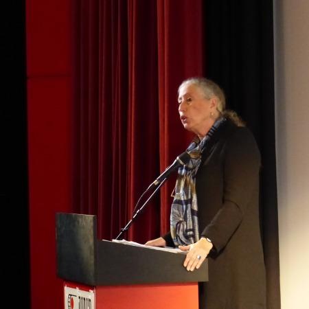 רחל אליאור, בהרצאה